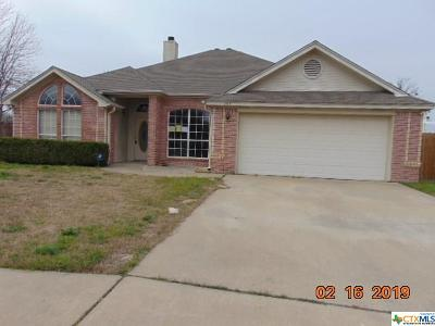 Killeen Single Family Home For Sale: 204 Cobblestone Drive