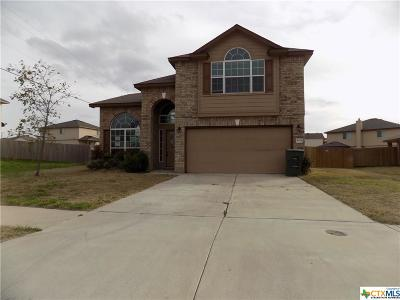 Killeen Single Family Home For Sale: 4708 Green Meadow