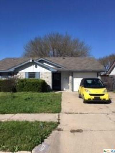 Killeen Single Family Home For Sale: 1407 Garnet