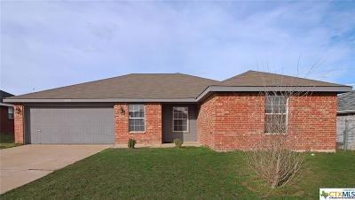 Killeen Single Family Home For Sale: 2805 Wesley Drive