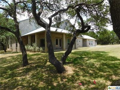 Canyon Lake Single Family Home For Sale: 891 Bendel Ranch