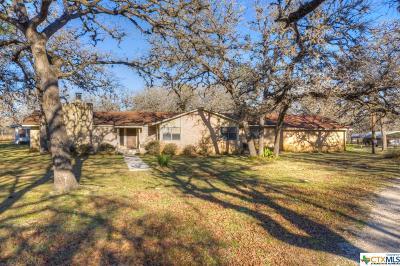 Seguin Single Family Home For Sale: 2740 Vivroux Ranch Rd