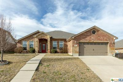 Killeen Single Family Home For Sale: 5807 Turquoise