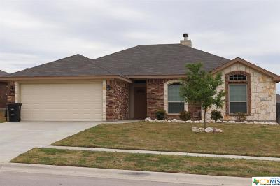 Killeen Single Family Home For Sale: 3801 Appalachian