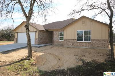 Belton Single Family Home For Sale: 10 N Jackrabbit Court
