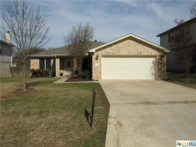 Harker Heights Rental For Rent: 109 Harvest Loop