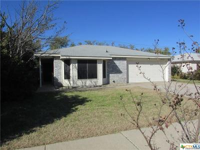 Killeen Single Family Home For Sale: 2905 Thorughbred Drive