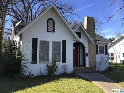 Temple Single Family Home For Sale: 1504 N 7th