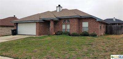 Killeen Single Family Home For Sale: 3809 Oak Valley