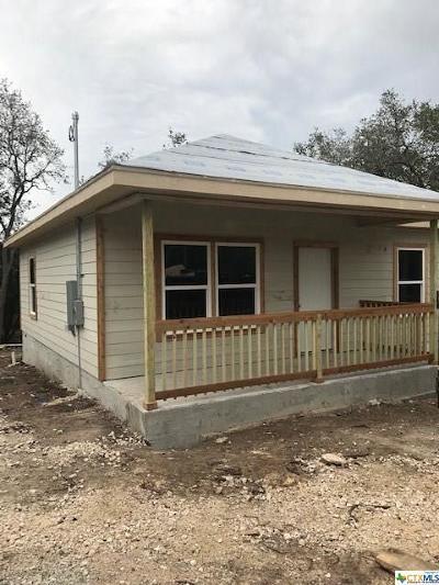 Canyon Lake TX Single Family Home For Sale: $169,900