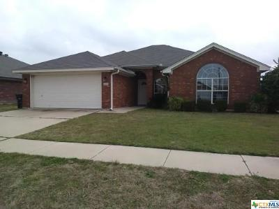 Killeen Single Family Home For Sale: 4306 Rosebelle