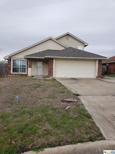 Nolanville Single Family Home For Sale: 201 Cedar Ridge