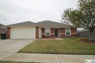 Killeen Single Family Home For Sale: 1412 Copper Creek