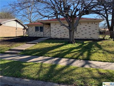 Copperas Cove Single Family Home For Sale: 1102 Magnolia