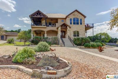 Canyon Lake TX Single Family Home For Sale: $549,900