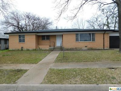 Coryell County Single Family Home For Sale: 309 W Washington Avenue