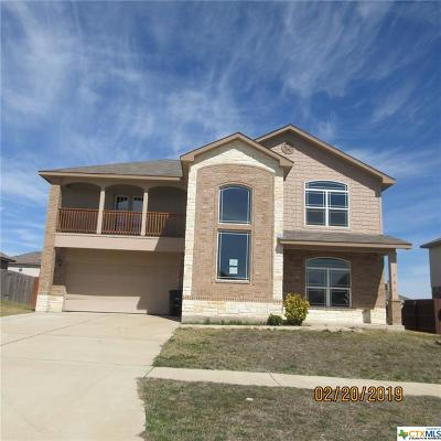 Killeen Single Family Home For Sale: 507 W Vega Lane