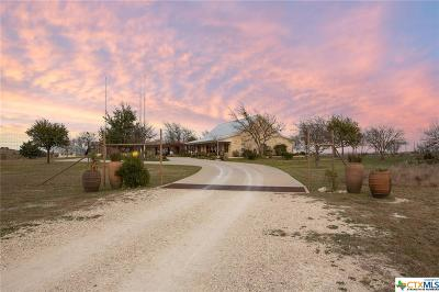 Lampasas Single Family Home For Sale: 3754 W Fm 580