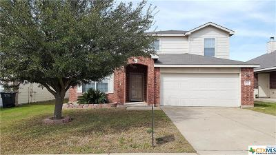Killeen Single Family Home For Sale: 6504 Taree Loop