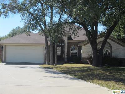 Belton Single Family Home For Sale: 1609 Loving Trail