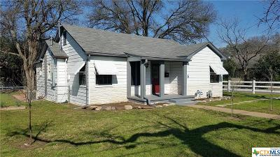 Belton Single Family Home For Sale: 524 E 13th Avenue