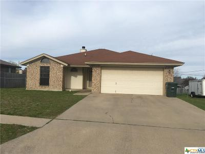 Copperas Cove Single Family Home For Sale: 213 Wagontrain