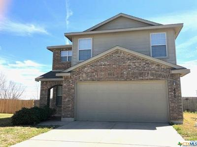 Killeen Single Family Home For Sale: 802 Perseus Drive