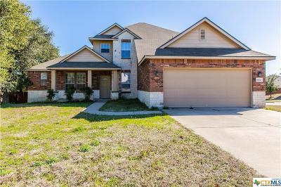 Killeen Single Family Home For Sale: 4900 Smoky Quartz
