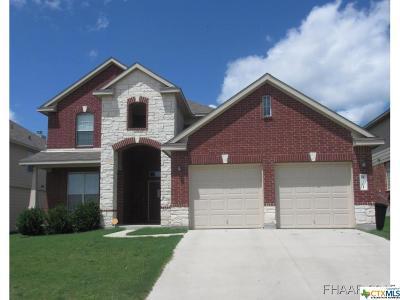 Killeen TX Single Family Home For Sale: $179,500