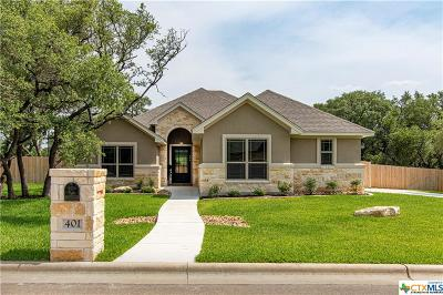 Belton Single Family Home For Sale: 401 Roca