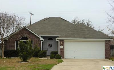 Temple Single Family Home For Sale: 1017 Neuberry Cliffe