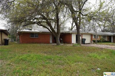 Temple, Belton Single Family Home For Sale: 1902 S 19th