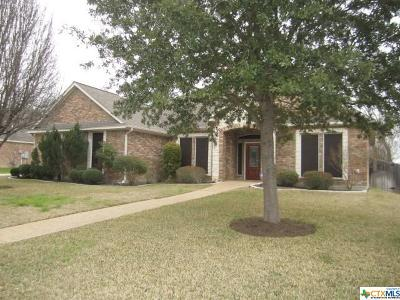 Temple Single Family Home For Sale: 6005 Turtle Creek Trail