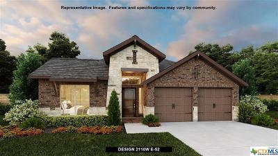 Seguin Single Family Home For Sale: 2968 Grove Terrace