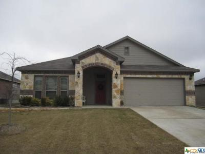 Temple Single Family Home For Sale: 5710 Markham Drive