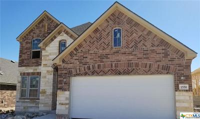 New Braunfels Single Family Home For Sale: 1550 Founders Park
