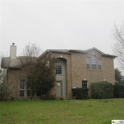 Harker Heights Single Family Home Pending: 500 Prospector Trail