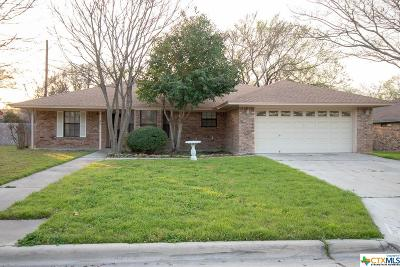 Harker Heights Single Family Home For Sale: 1708 Fox Trail