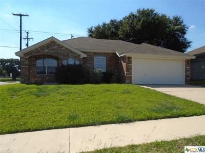 Killeen Single Family Home For Sale: 5509 White Rock Drive