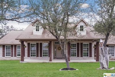 Canyon Lake Single Family Home For Sale: 2305 Rocky Ridge