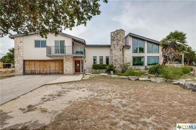 Canyon Lake Single Family Home For Sale: 837 Military Drive