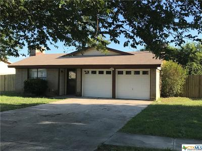 Killeen Single Family Home For Sale: 5706 Dan