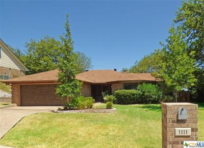 Harker Heights Single Family Home Pending: 1111 Boulder Run
