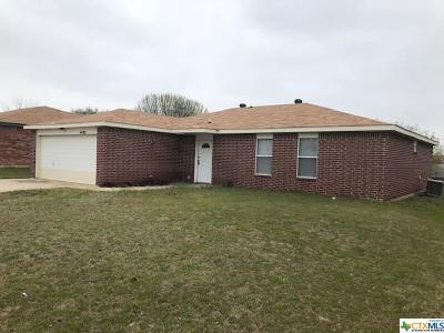 Killeen Single Family Home For Sale: 4403 Tidal Wave