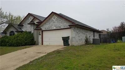 Killeen Single Family Home For Sale: 4205 Telluride Drive