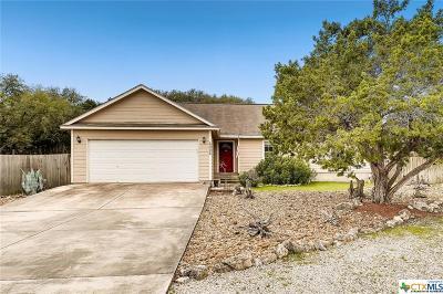Canyon Lake Single Family Home For Sale: 4006 Morningside