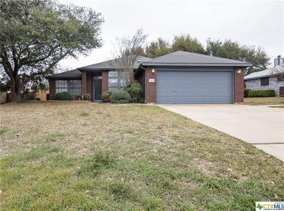 Harker Heights Single Family Home Pending: 2304 Wampum