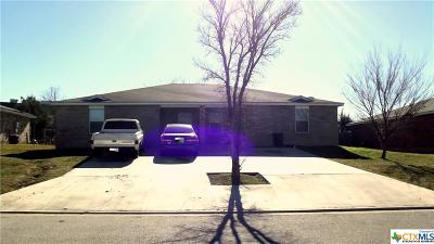 Harker Heights Multi Family Home Pending: 412 Justin