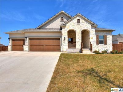 Round Rock Single Family Home For Sale: 814 Lorraine Cove