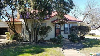 Temple, Belton Single Family Home For Sale: 1420 N 7th Street